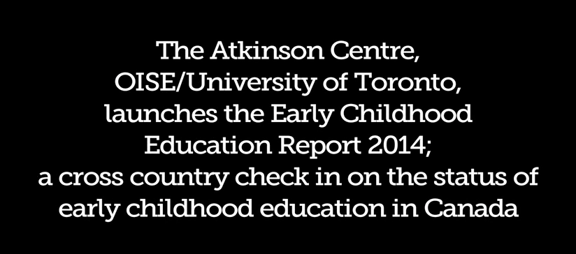 Early Childhood Education Report 2014